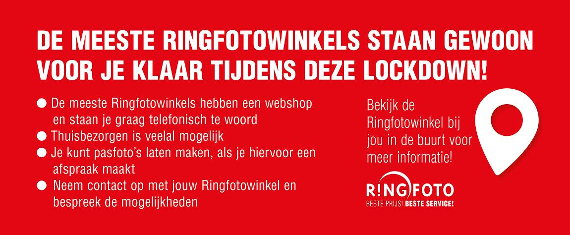 Lockdown informatie Ringfoto