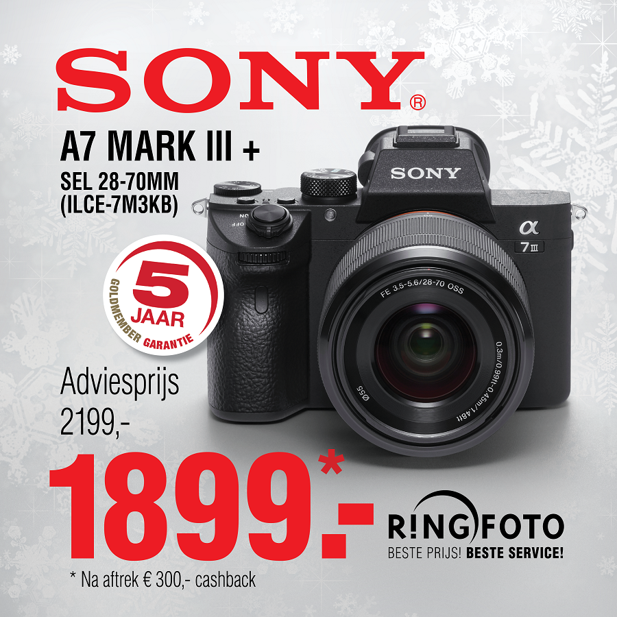 RF Sony A7 Mark III